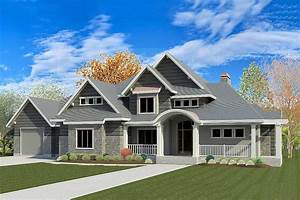 Exciting, Traditional, House, Plan, With, Optional, Sports, Court