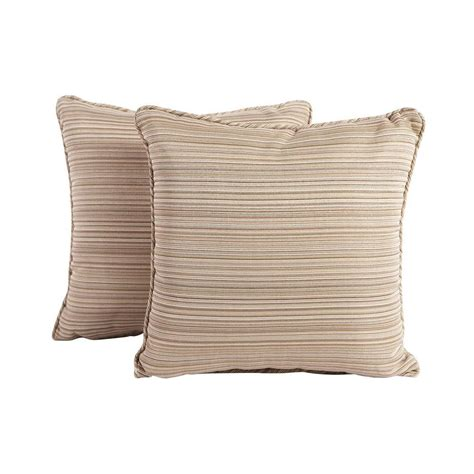 Patio Cushions Home Depot by Martha Stewart Living Outdoor Pillows Outdoor Cushions