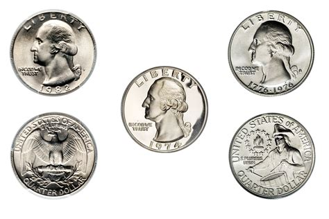 how big is a quarter clad washington quarter values and prices 1965 1998