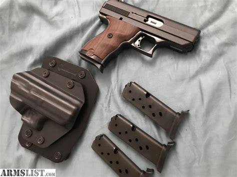 ARMSLIST - For Sale: hi point c9 with wood grips
