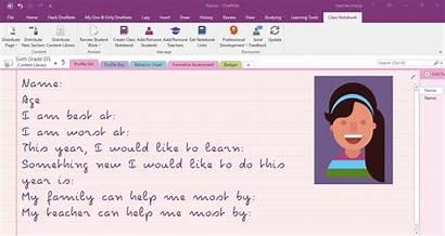 Class Onenote Notebook App Classroom Microsoft Notebooks