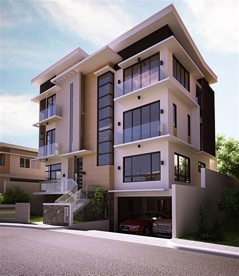 modern residential facades four storey modern residential updated final revision page 9 facade pinterest finals