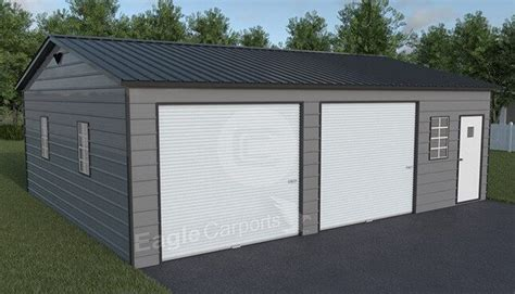 Snow/Wind Certified Metal Garage 30x30   Shop Metal Garage