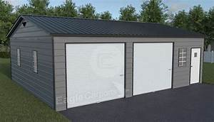 snow wind certified metal garage 30x30 shop metal garage With 30x30 garage prices