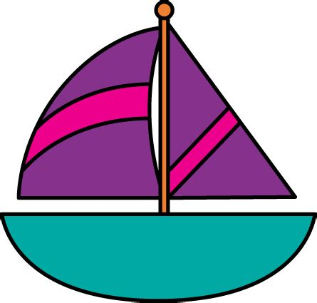 Boat Clipart by Sailboat Clip Sailboat Images