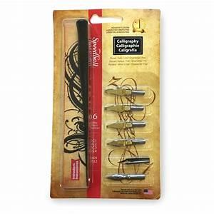 speedball calligraphy pen set scribblers With speedball calligraphy dip pen oblique lettering set