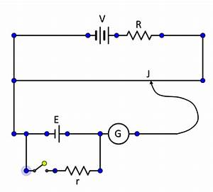 Draw A Well Labeled Circuit Diagram Of A Potentiometer