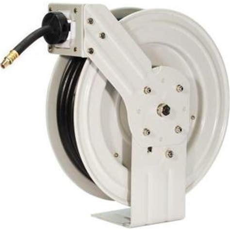 primefit 50 ft industrial grade retractable air hose reel