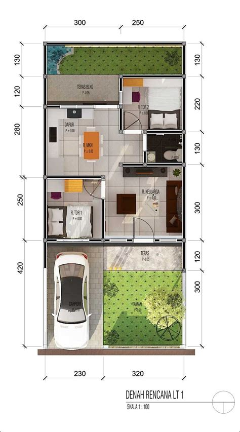 koleksi  desain rumah modern  terbaru  terkeren
