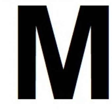 big letter m big letter m bigletterm 20607 | M 13 170 238 Modern 400x400
