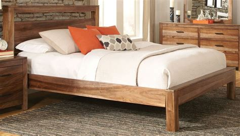 Peyton Queen Platform Bed From Coaster (203651q) Coleman