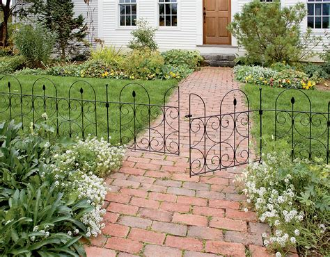 garden border fence design fence ideas ideas for make