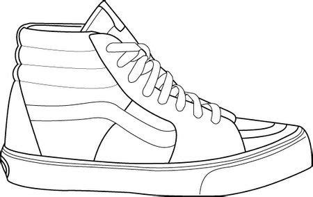 Coloring Page Shoes - Costumepartyrun