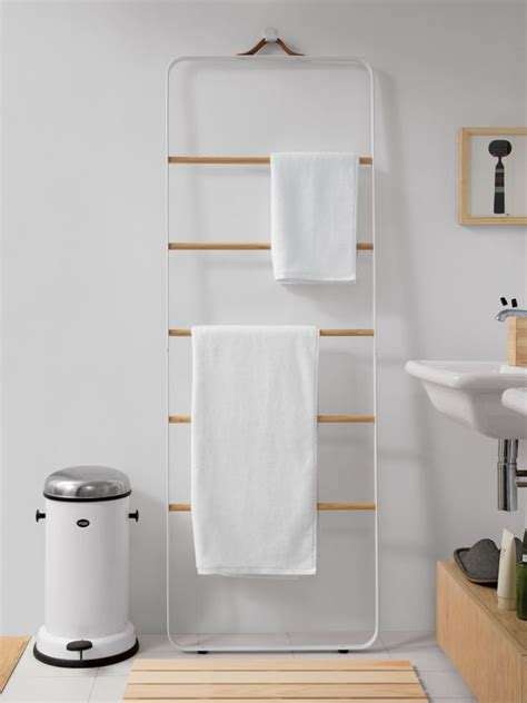 Home Place Bathroom Accessories by New Bath Hardware From Norm Architects The Towel Ladder