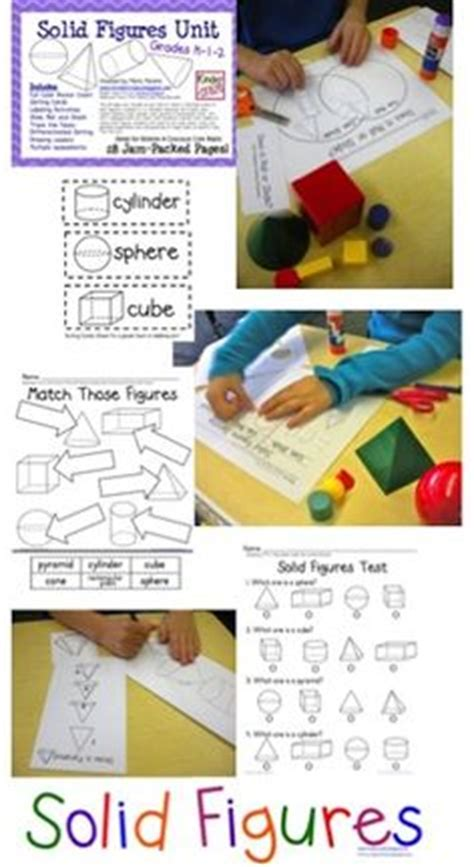 french shapes  solids images teaching
