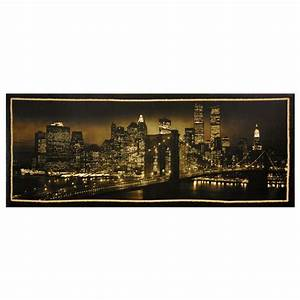 oriental furniture 16 in x 40 in quotnew york skyline With kitchen colors with white cabinets with new york city wall art canvas