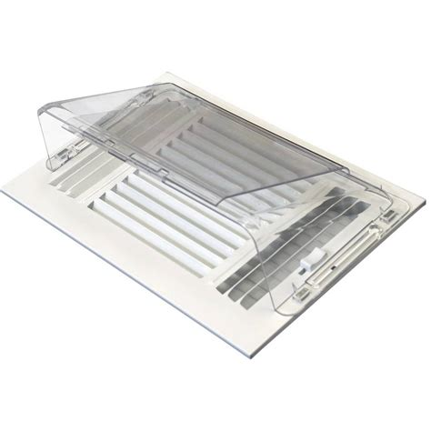 commercial ceiling air vent deflector shop accord 5 75 in x 10 5 in adjustable magnetic mount