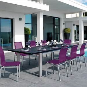 Salon Aluminium De Jardin : salon de jardin aluminium ~ Edinachiropracticcenter.com Idées de Décoration
