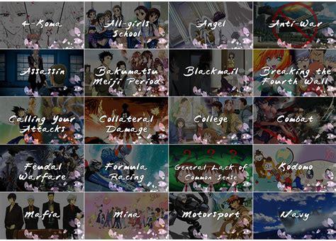 anime genre neet anime genre icons fan emby community