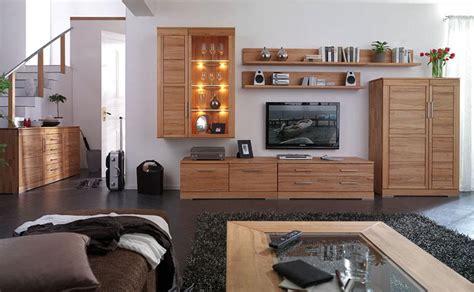 wohnzimmer massivholz komplett massivholz moebel