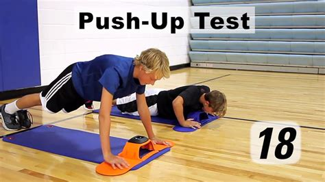 up test push up test cadence