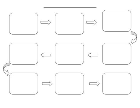 free blank flow chart template for word 4 best images of free printable flow chart organizer flow chart graphic organizer printable