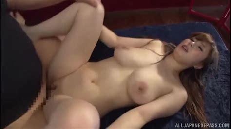Sweet Japanese Milf With Big Natural Tits Enjoys Hard Fuck