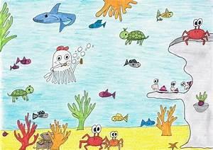 Gemalte Bilder Von Kindern : malwettbewerb gewinner quentin qualle loewe verlag ~ Markanthonyermac.com Haus und Dekorationen