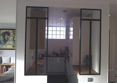 ouverture cuisine sur sejour defi métallerie conception de vérandas et de verrières d