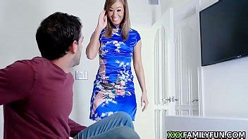 Asian Step Mom Loves A Good Fucking From Her Stepson