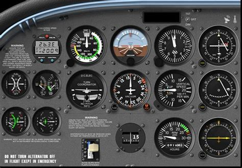 cessna 172 templates cessna 172r cockpit layout