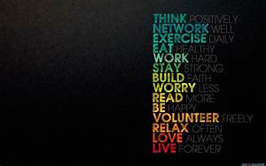 Think Psitively Inspirational Quotes - New HD Wallpapers