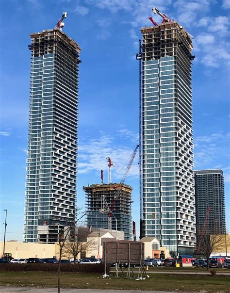 Transit City Towers Rising Tall In Downtown Vaughan