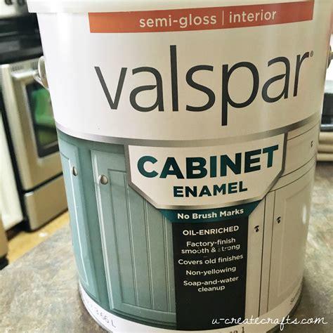 valspar cabinet enamel paint create