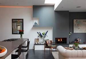 Simple and stunning apartment interior designs for Interior decoration in living room photos