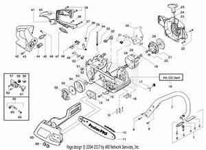 Poulan Pp220le Gas Saw  220le Poulan Pro Gas Saw Parts Diagram For Starter