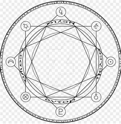Circle Magic Spell Transparent Circles Dark Math