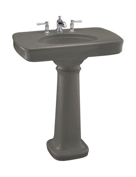 kohler bancroft pedestal sink 30 kohler k 2347 8 k4 bancroft 30 quot pedestal