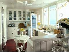 Small Beach House Decorating Ideas 08 Cottage Style Kitchen By Deborah Whitlaw Llewellyn Via Coastal