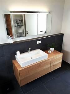 Unterschrank Bad Hängend : waschtischunterschrank aus holz modern massiv eiche waschtisch unterschrank holz ~ Watch28wear.com Haus und Dekorationen