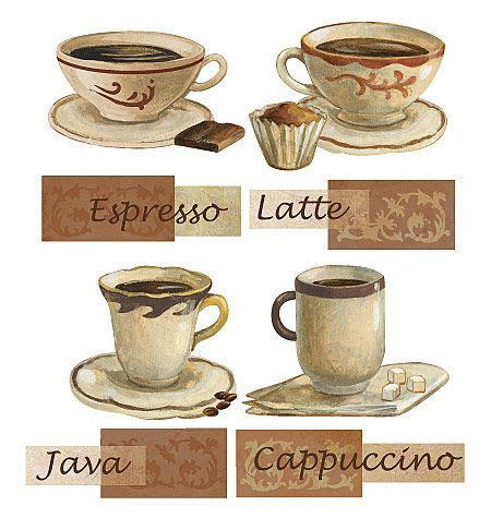 Are you a coffee lover? Coffee Decals for a Kitchen #coffee-themed-kitchen-decor | Kitchen decor themes coffee, Coffee ...