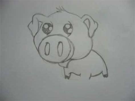 Dessin Animaux Facile Dessin P Cochon Trop Mignon