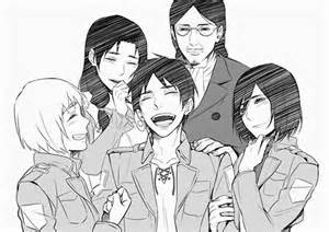 Attack On Titan Eren and Mikasa Family