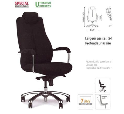 fauteuil de bureau grande taille fauteuil 24h pour grande taille on 113 mobilier de bureau
