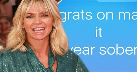Zoe Ball thanks her supportive family as she celebrates ...