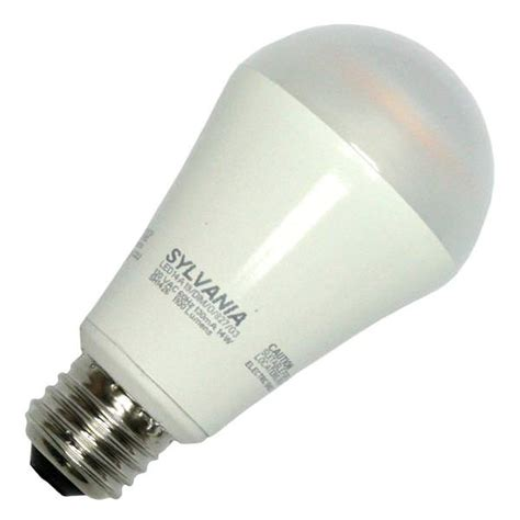 sylvania 79084 led14a19 dim o 827 g3rp a line pear led