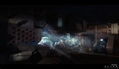 alien isolation concept art