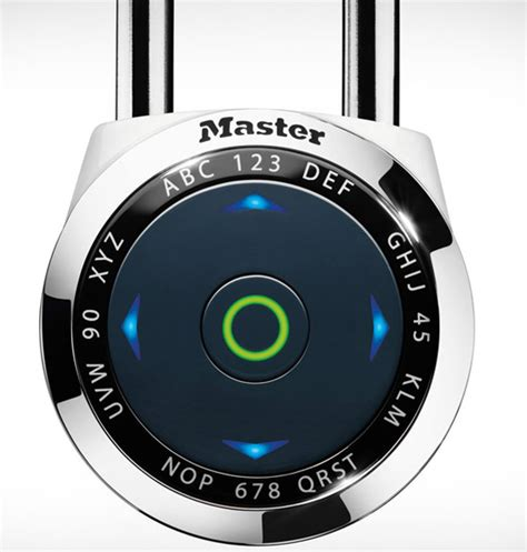 digital master master lock dialspeed padlock the lock from the future