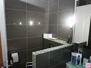 Enchanteur idee carrelage salle de bain avec idae faience for Salle de bain design avec colonne lavabo castorama