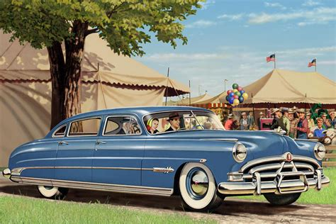 1951 Hudson Hornet Fair Americana Antique Car Auto